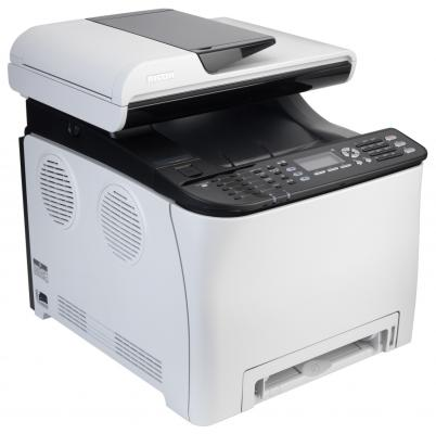 МФУ Ricoh Aficio SP C250SF цветное A4 2400x600dpi 20ppm duplex Wi-Fi 407524 лазерное мфу ricoh aficio sp 325sfnw