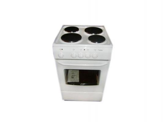 Электрическая плита De Luxe 5004.12э кр белый