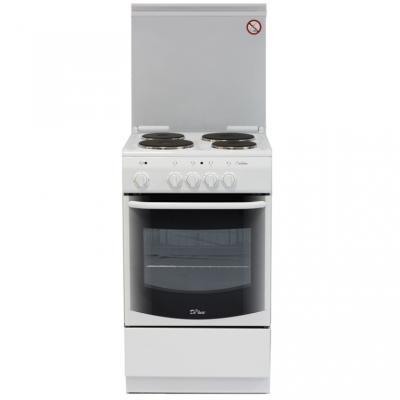 Электрическая плита De Luxe De Luxe 5004.13э белый камины ewt ventosa de luxe