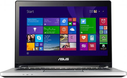 "Ноутбук Asus TP300LA 13.3"" 1366x768 глянцевый i3-4030U 1.9GHz 4Gb 500Gb Intel HD4400 Blueto"