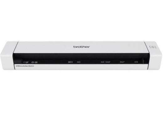 Сканер Brother DS-620 протяжный CIS A4 600x600dpi USB