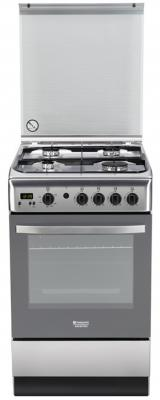 Газовая плита Hotpoint-Ariston H5GG5F (X) RU серебристый