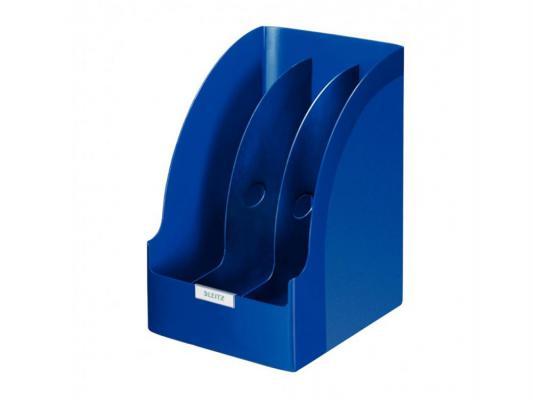 Лоток вертикальный Leitz Plus Jumbo с разделителями синий 52390035
