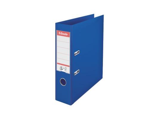 Папка-регистратор Esselte Power А4 75мм пластик синий 811350 папка регистратор esselte economy 10782p a4 75мм желтый