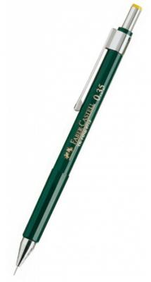 Карандаш механический Faber-Castell TK-Fine 0.35мм 136300 карандаш механический faber castell grip 2011 0 7мм серебряный 131211