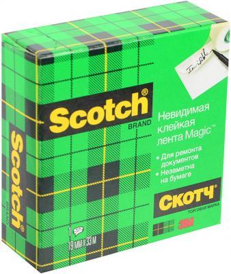 Клейкая лента Scotch Magic 19мм x 33 м 72823 scotch