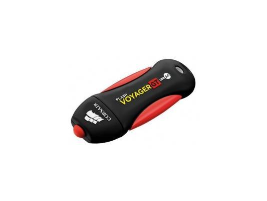 Флешка USB 32Gb Corsair Voyager GT CMFVYGT3B-32GB черный красный