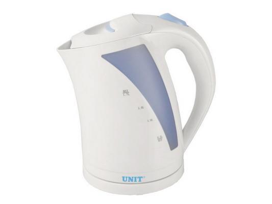 Чайник Unit UEK-244 2000 белый 1.7 л пластик чайник василиса т32 2000