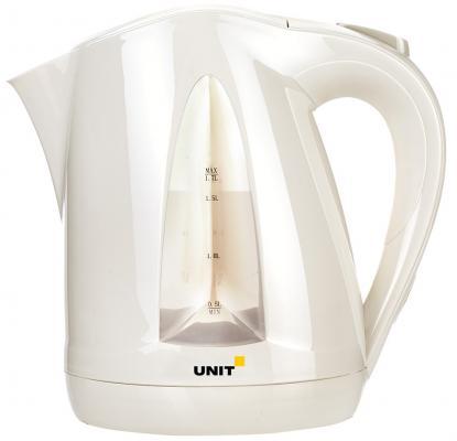 Чайник Unit UEK-246 2000 Вт бежевый 1.7 л пластик