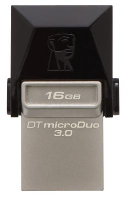 Флешка USB 16Gb Kingston DataTraveler MicroDuo DTDUO3 DTDUO3/16GB usb flash drive 16gb kingston datatraveler microduo dtduo 16gb