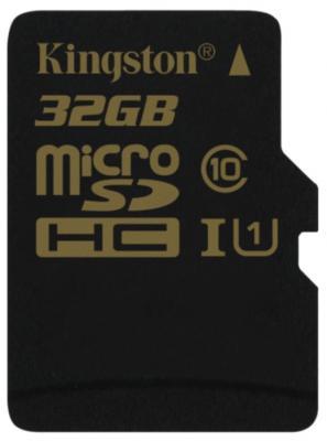Карта памяти Micro SDHC 32GB Class 10 Kingston SDCA10/32GBSP