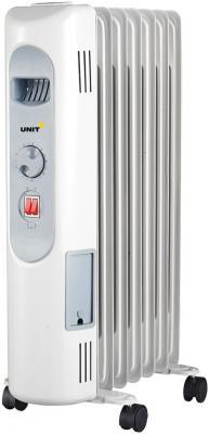 Масляный радиатор Unit UOR-721 1500 Вт белый