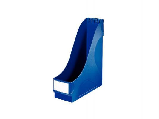 Подставка Leitz вертикальная для журналов 1 отделение пластик синий 24250035