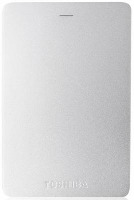 "Внешний жесткий диск 2.5"" USB3.0 1Tb Toshiba Canvio Alu HDTH310ES3AA серебристый"