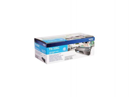 Картридж Brother TN326C для HL-L8250CDN MFC-L8650CDW голубой 3500стр brother mfc l8650cdw cartridge