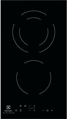 Варочная панель электрическая Electrolux EHF93320NK черный варочная панель электрическая electrolux ehh6340fok черный