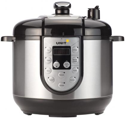 Мультиварка Unit USP-1095D черный 1000 Вт 6 л