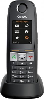 Радиотелефон DECT Gigaset E630H черный радиотелефон siemens gigaset a220a серый s30852 h2431 s303