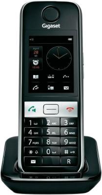 Радиотелефон DECT Gigaset S820H черный