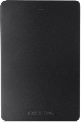 """Внешний жесткий диск 2.5"""" USB3.0 2Tb Toshiba Canvio Alu HDTH320EK3CA черный"""