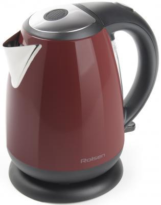 Чайник Rolsen RK-2713M 2200Вт 1.7л металл красный
