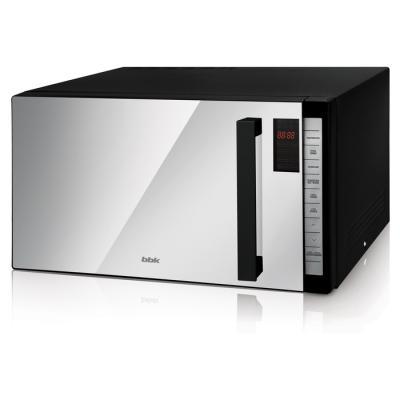 СВЧ BBK 25MWC-980T/B-M 900 Вт чёрный микроволновая печь bbk 23mws 927m w 900 вт белый