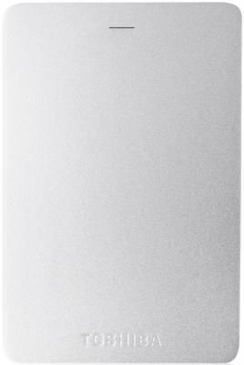 """Внешний жесткий диск 2.5"""" USB3.0 2Tb Toshiba Canvio Alu HDTH320ES3CA серебристый"""