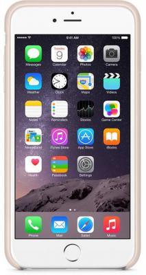 Чехол (клип-кейс) Apple LEATHER CASE SOFT PINK для iPhone 6 Plus розовый -ZML MGQW2ZM/A  LEATHER CASE SOFT PINK