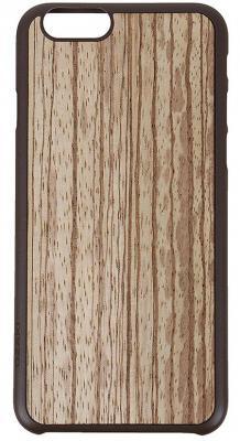 Чехол (клип-кейс) Ozaki O!coat 0.3+ Wood для iPhone 6 коричневый OC556ZB