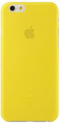 Чехол (клип-кейс) Ozaki O!coat 0.3 Jelly для iPhone 6 желтый OC555YL