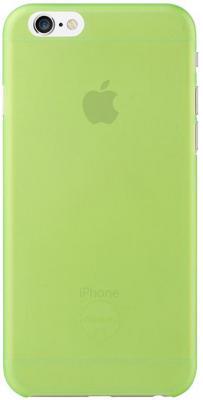 Чехол (клип-кейс) Ozaki O!coat 0.3 Jelly для iPhone 6 зеленый OC555GN