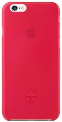 Чехол (клип-кейс) Ozaki O!coat 0.3 Jelly для iPhone 6 красный OC555RD  O!coat 0.3 Jelly