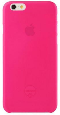 Чехол (клип-кейс) Ozaki O!coat 0.3 Jelly для iPhone 6 розовый OC555PK
