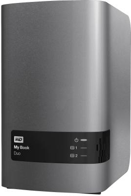 "Внешний жесткий диск 3.5"" USB3.0 6 Tb Western Digital My Book DUO WDBRMH0060JCH-EEUE"