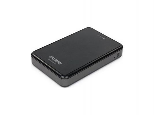 """Внешний контейнер для HDD 2.5"""" SATA ZALMAN ZM-WE450 USB3.0 Wi-Fi черный"""