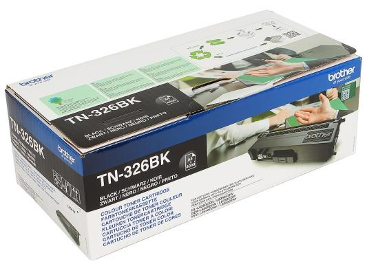Картридж Brother TN326BK для HL-L8250CDN/MFC-L8650CDW черный 4000стр тонер картридж brother tn321m пурпурный для brother hl l8250cdn mfc l8650cdw 1500стр