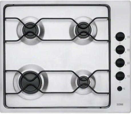 Варочная панель газовая Zanussi ZGG67412XA серебристый