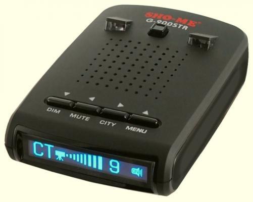 Радар-детектор Sho-Me G-900STR синий