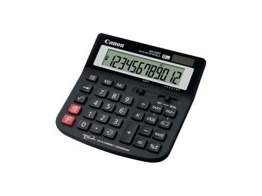 Калькулятор Canon WS-220TC 12 разряда черный