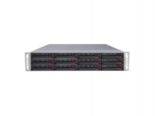 Серверный корпус 2U Supermicro CSE-826E16-R500LPB 500 Вт чёрный