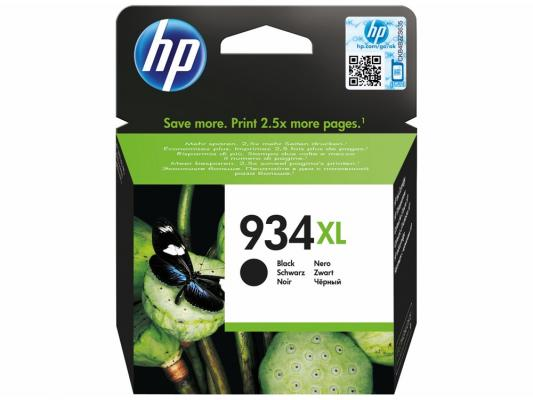 Картридж HP C2P23AE № 934XL для Officejet Pro 6830 черный картридж hp c2p19ae 934 black для officejet pro 6830