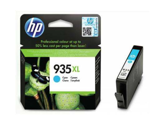 Картридж HP C2P24AE № 935XL для Officejet Pro 6830 голубой картридж hp 935xl yellow c2p26ae