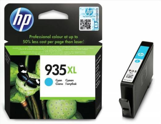 Картридж HP C2P24AE № 935XL для Officejet Pro 6830 голубой картридж hp 935 для officejet pro 6830 400стр голубой c2p20ae