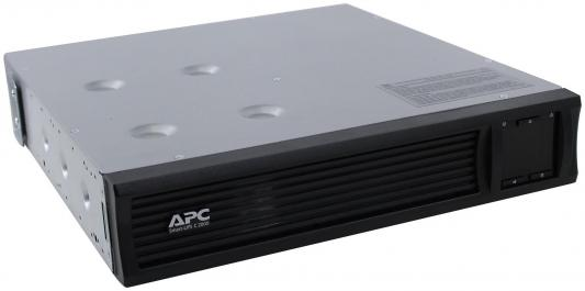 ИБП APC SMART SMC2000I-2U 2000VA черный ибп apc by schneider electric smart ups c 2000va lcd smc2000i