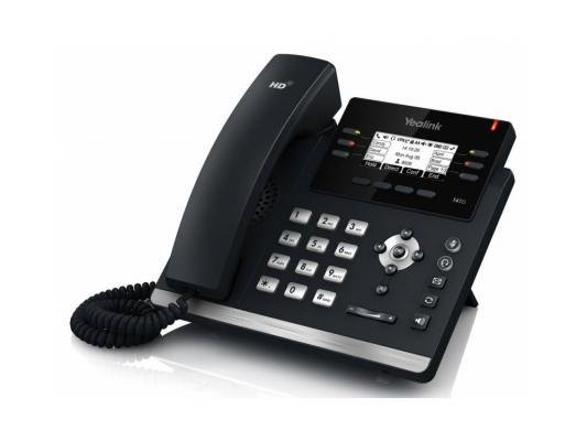 "������� IP Yealink SIP-T42G 12 SIP-��������� 2x10/100/1000Mbps 2.7"" LCD PoE BLF BLA"