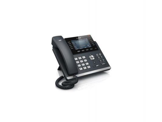 "Телефон IP Yealink SIP-T46G 16 SIP-аккаунтов 2x10/100/1000Mbps 1xUSB2.0 4.3"" LCD PoE BLF BLA"