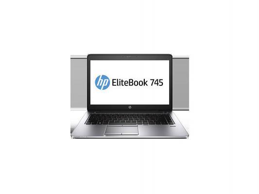 """Купить Ноутбуки   Ноутбук HP EliteBook 745 G2 14"""" 1600х900 матовый A10 Pro-7350B 2.1GHz 4Gb 500Gb Radeon R6 Bluetooth Wi-Fi W7Pro+W8Pro серебристый J0X31AW"""