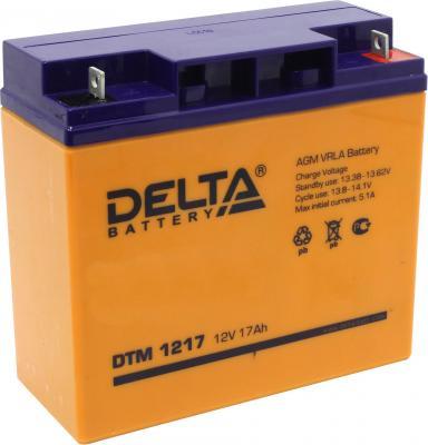 Батарея Delta DTM 1217 17A/hs 12W