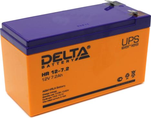 Батарея Delta HR12-7.2 7.2A/hs 12V