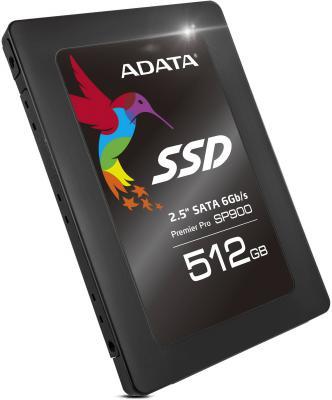 "SSD Твердотельный накопитель 2.5"" 512GB A-Data Read 555Mb/s Write 535Mb/s SATAIII ASP900S3-512GM-C"